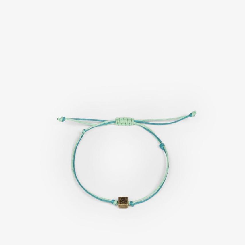 Pulsera cordón detalle verde Scalpers