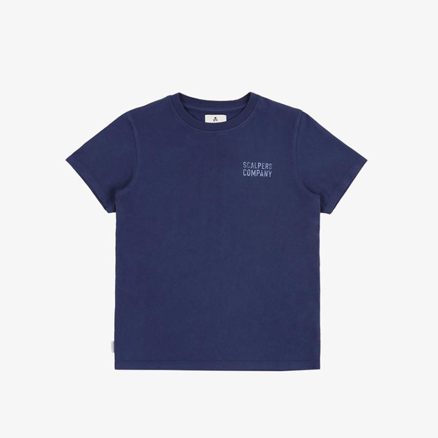 Camiseta print pecho azul Scalpers