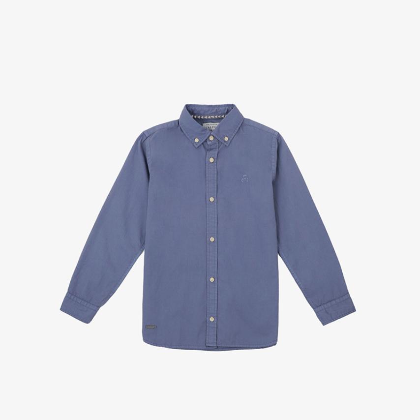 Camisa calavera tono azul Scalpers