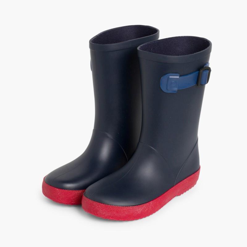 1e9bbc18d Botas de agua Niños Splash Tricolor. Calzado Infantil
