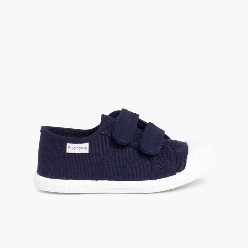 01d963574 Zapatillas Niños Lona Velcro. Zapatos baratos de calidad