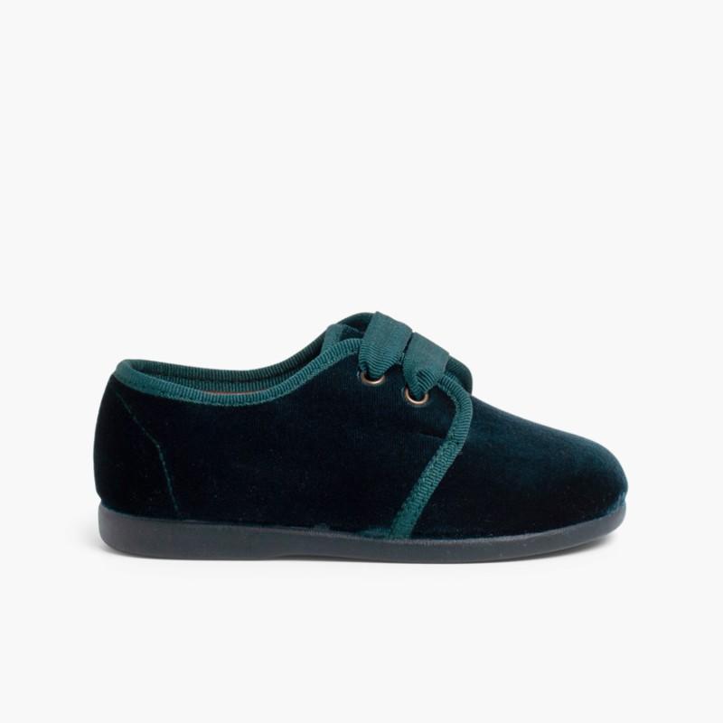 Zapato Terciopelo Blucher – Calzado primeros pasos online 9cefaec0c0d