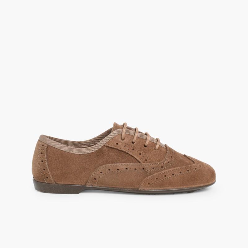 8ff3645d Zapatos Blucher Niña. Zapatos Oxford Mujer marca Pisamonas
