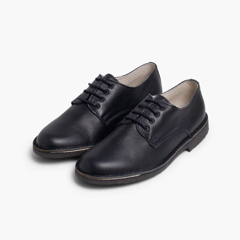 7bc4ea329fe6f Zapatos Oxford para niño y hombre