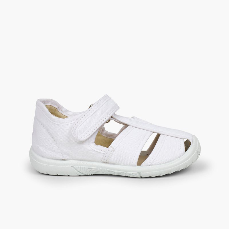Pepito sandalia velcro niño puntera reforzada