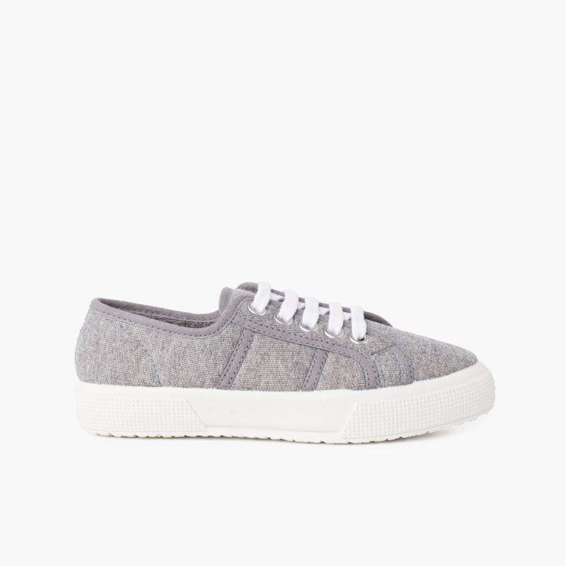 Zapatillas tejido punto orgánico