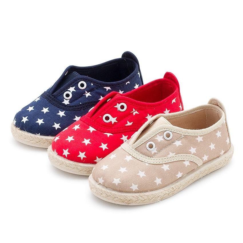 Zapatillas Estrellas Sin Cordones | Bambas Niño y Niña