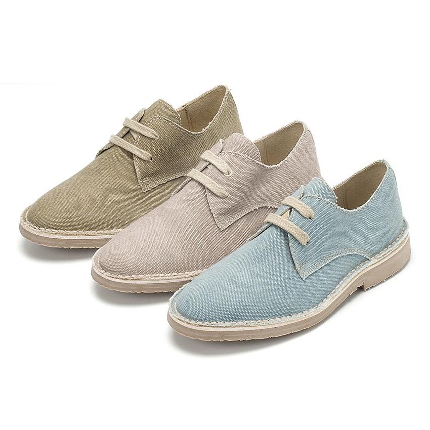 Zapato Blucher Tela de Saco