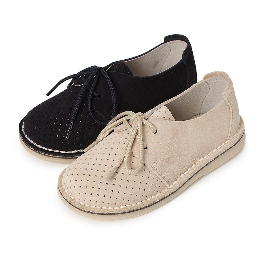 Zapato Serraje Blucher con Picado