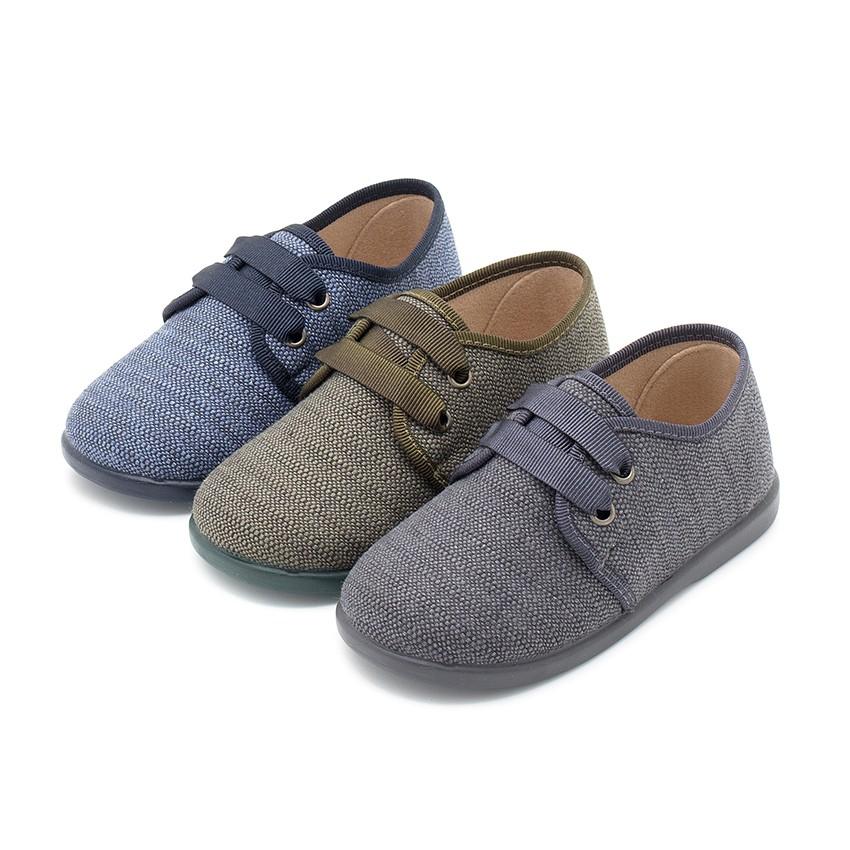 Zapatos de Tela Tipo Blucher Niño