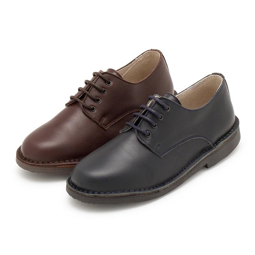 Zapatos Oxford Niño Piel