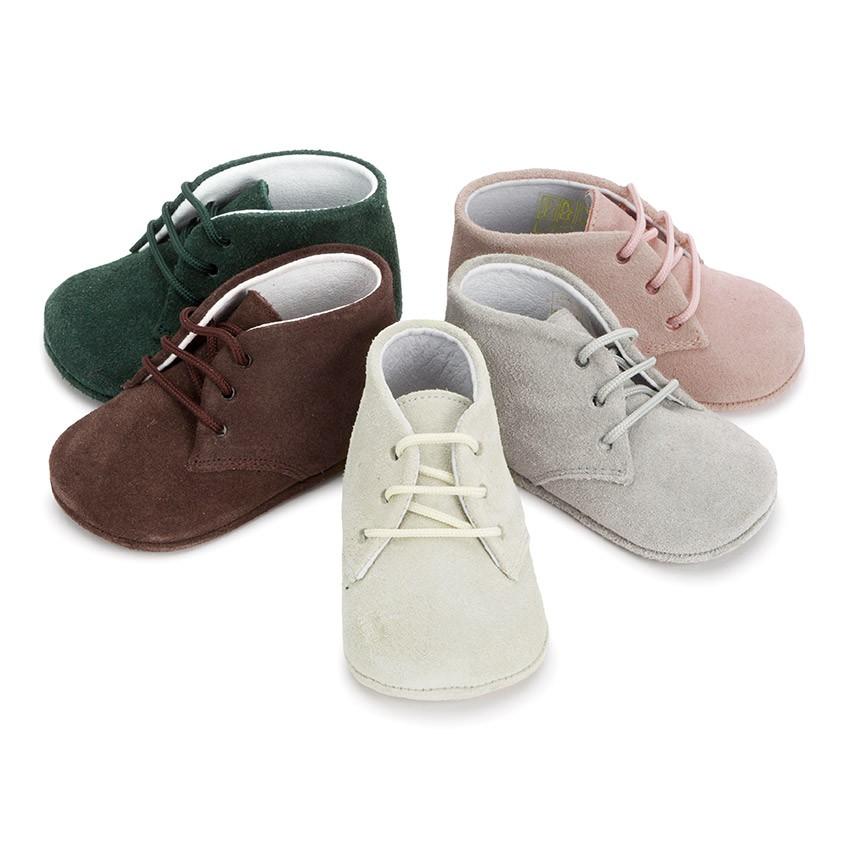 Zapatos verdes marineros para bebé ocqsPfQdQ