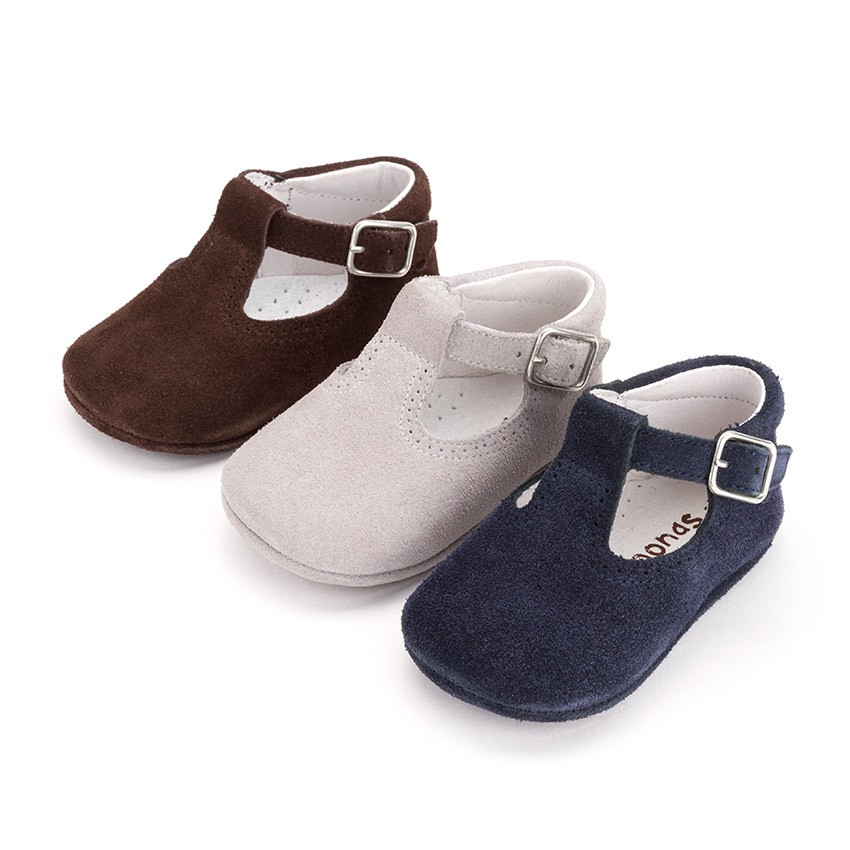 Patent Navy Girls Shoes