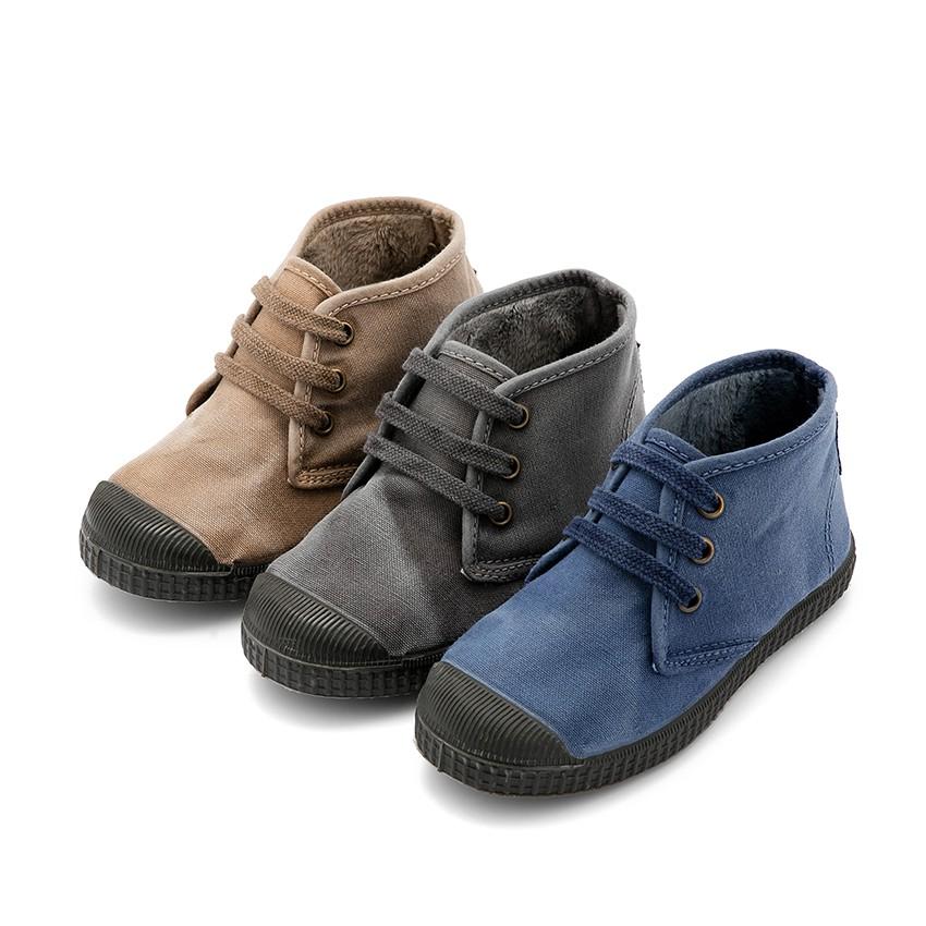 Botas para ni o con cordones invierno marca pisamonas for Casas zapatos ninos