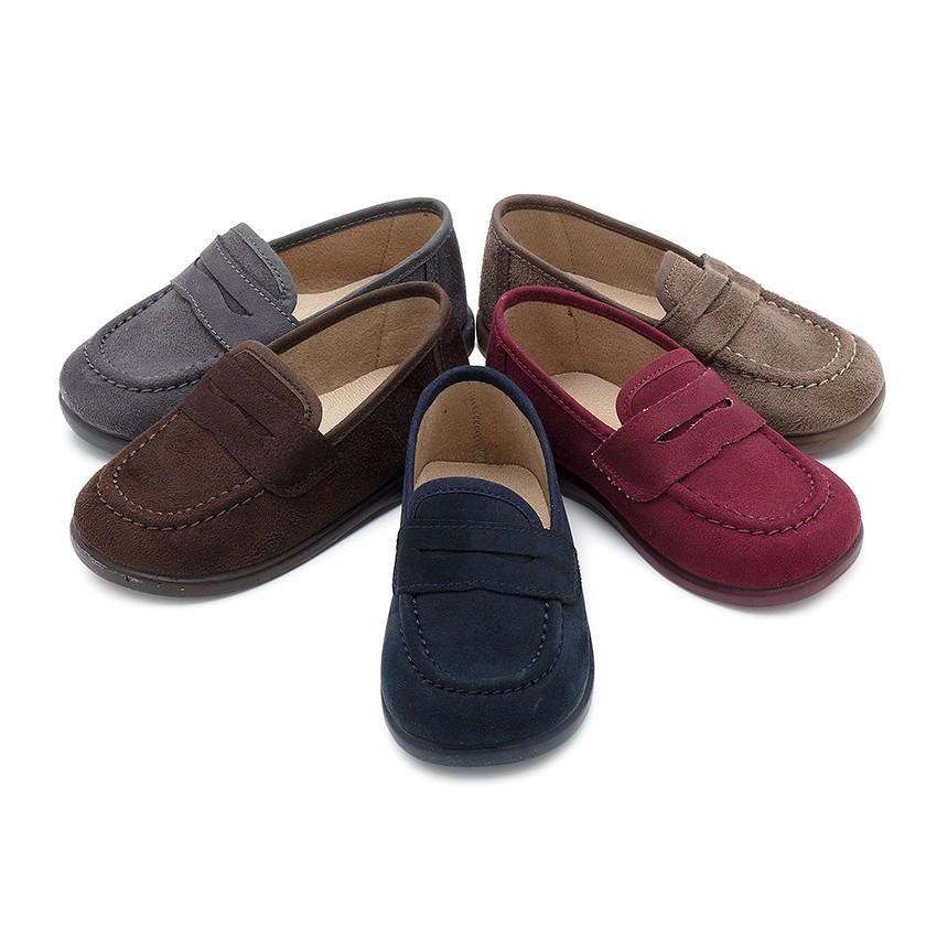 Mocasines ni o serratex zapatos para ni os online for Casas zapatos ninos