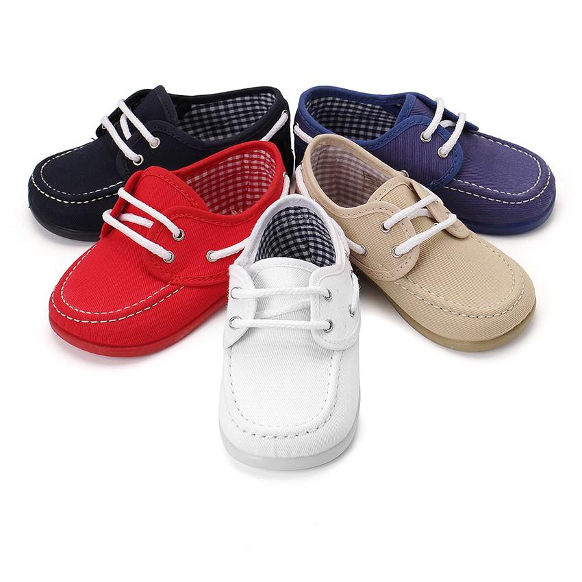 N uticos tela cordones ni o zapatos baratos de calidad for Casas zapatos ninos