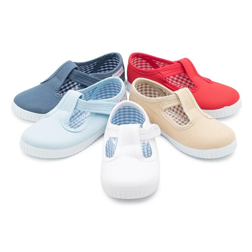Zapatos rojos con velcro infantiles mIyxalA0hQ