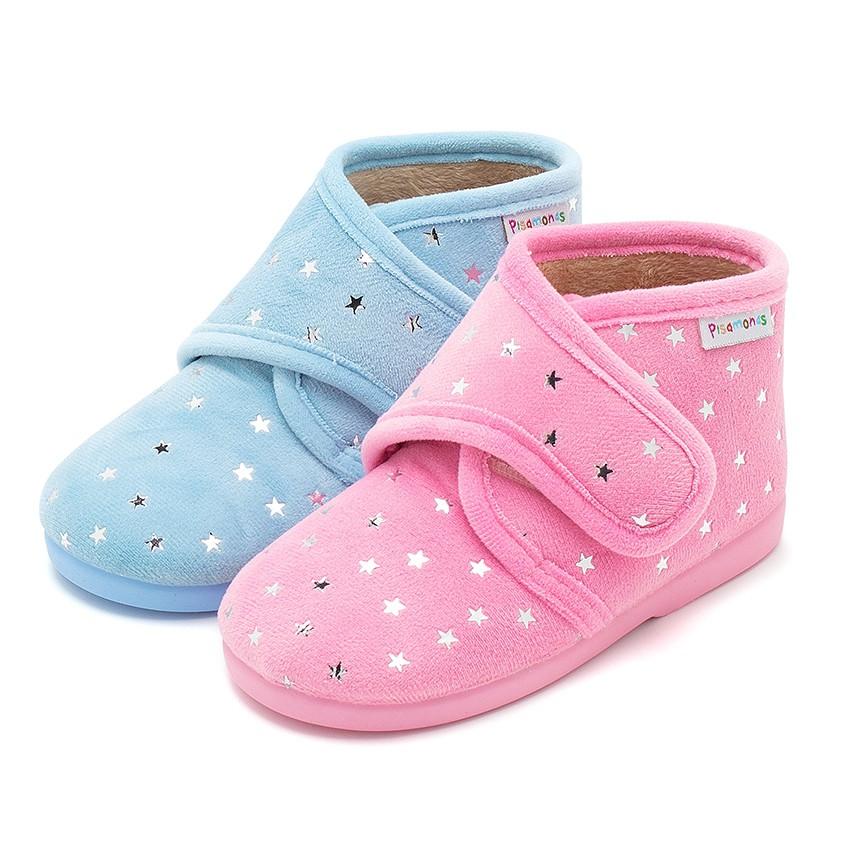 Zapatillas casa muy c modas con estrellas brillantes - Zapatillas para casa ...