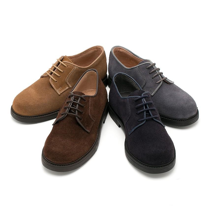Zapatos blucher para ni o comprar calzado de calidad for Casas zapatos ninos
