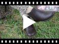 Video from Botines Niña Piel con Elástico Lateral