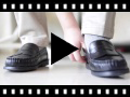 Video from Zapatos castellanos Mocasines de piel para Niño