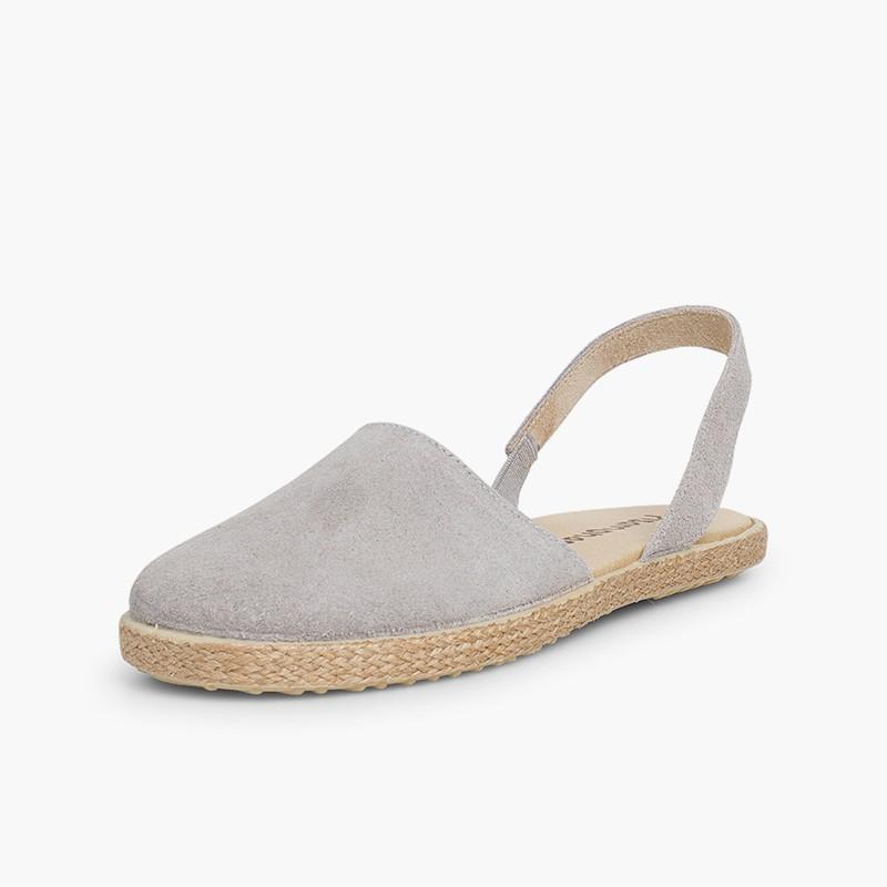 Sandalias Cerradas Mujer y Niña Serraje