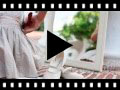 Video from Merceditas Niña de Lino Velcro fino
