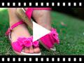Video from Sandalias Lona Hebilla con Lazo