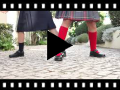 Video from Zapato Colegial Merceditas Niña Velcro