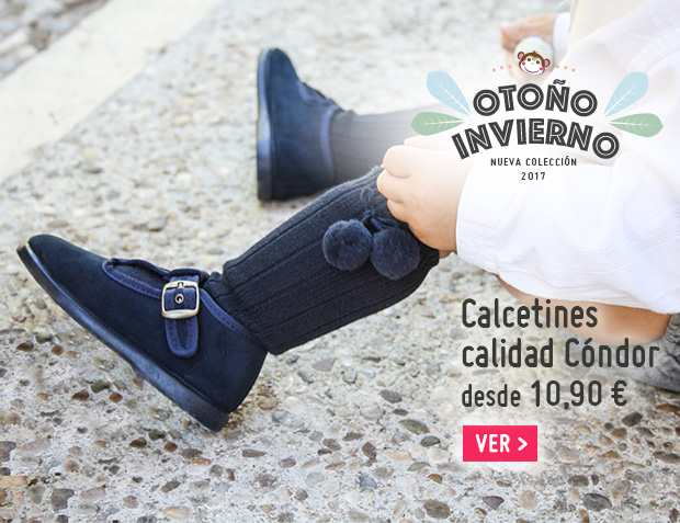 Calcetines Niño Otoño Invierno 2017