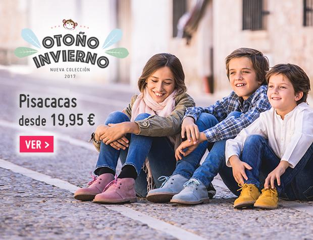 Pisacacas Niños Otoño Invierno 2017