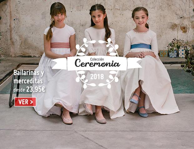 Zapatos Comunión y Ceremonia Niña 2018