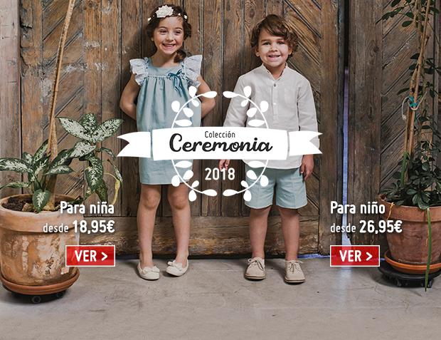 Calzado Infantil para Ceremonia 2018