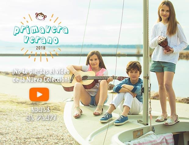 Nueva Colección Primavera Verano 2018 Calzado infantil