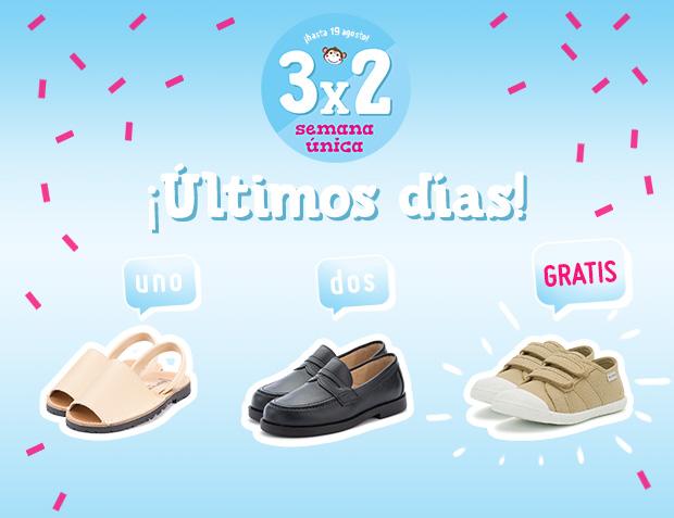 Zapatos Colegiales Niño 3x2