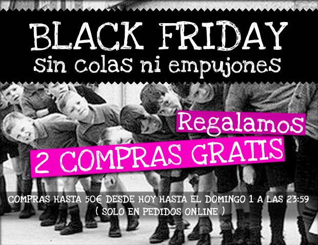 Black Friday en Pisamonas