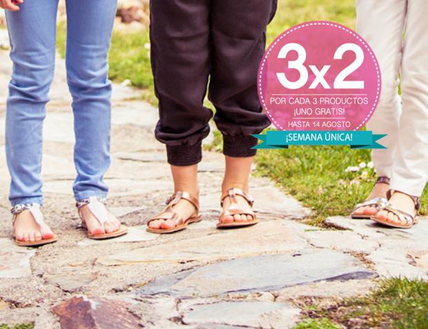 Pisamonas semana única 3 por 2 en calzado online de calidad para niños y adultos