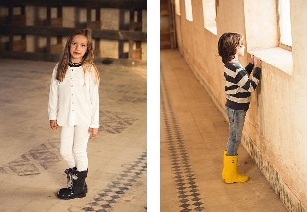 Botas de agua para niños para looks de lluvia ideales! 812b2da33c11d