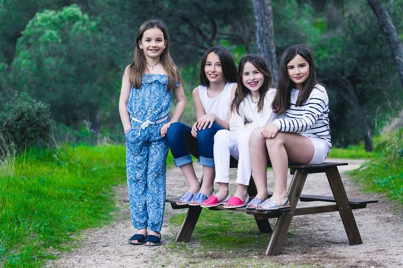 Menorquinas Niños y Adultos