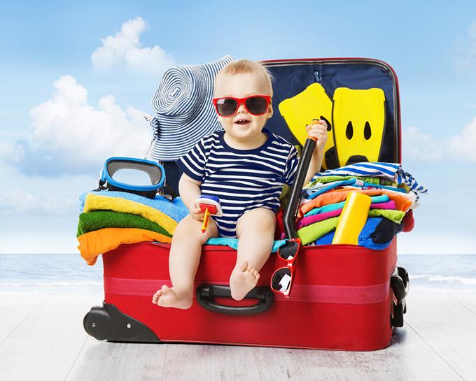 Viajar con bebés es posible