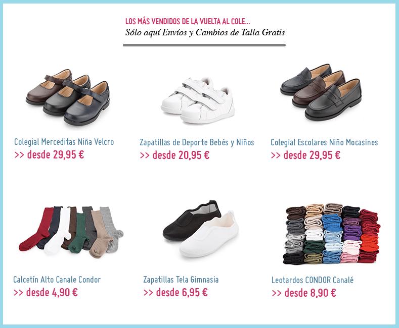 Los zapatos más vendidos de La Vuelta al Cole