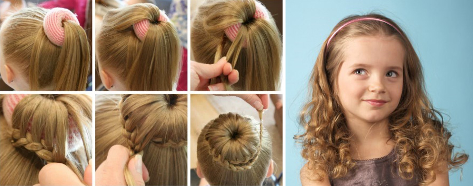 Acconciature capelli bambina cerimonia
