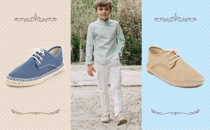 zapatos niños baratos para bodas, comuniones y eventos