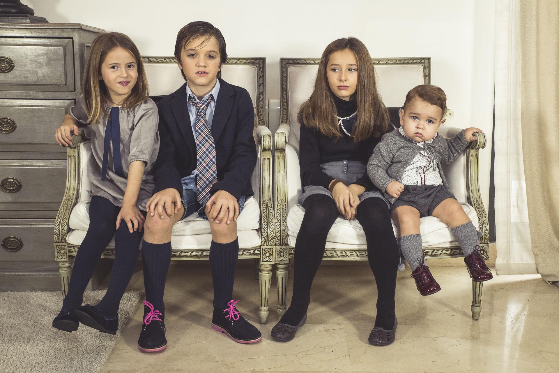 Calzado infantil clásico para ocasiones especiales