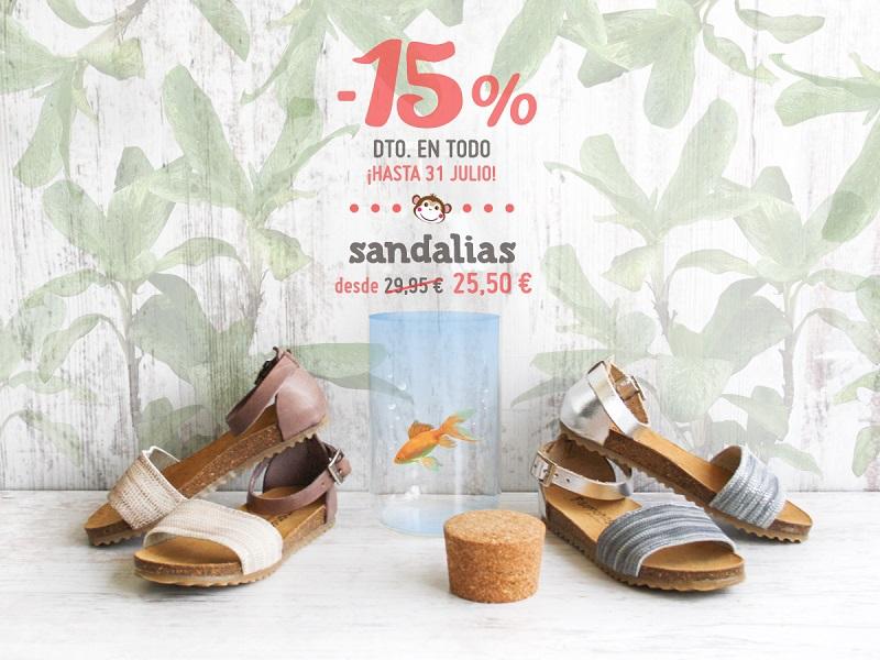 Rebajas de Sandalias para Niña 2017