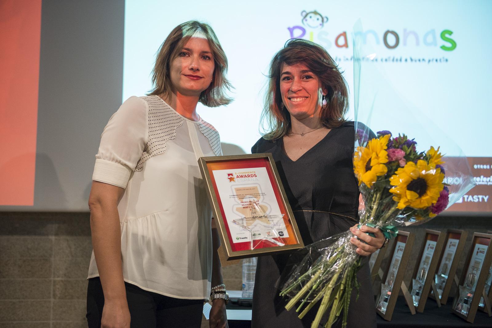 Premios Mejor Tienda Online de Bebés y Niños 2015 Pisamonas