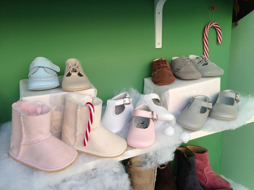 zapatos para bebe navidad 2013 pisamonas