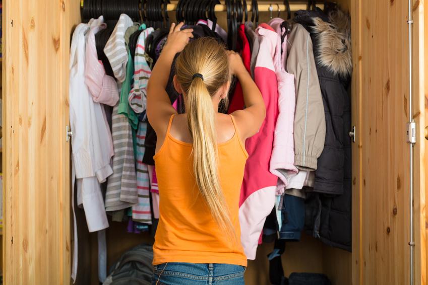 Como organizar su armario