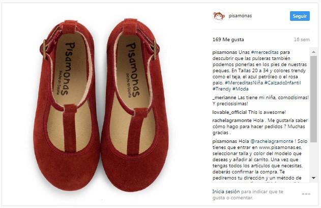 Instagram pisamonas merceditas en T