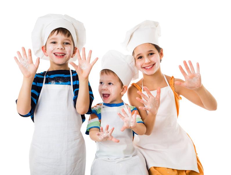 Cocina con tus hijos!